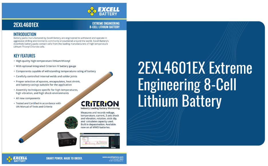 2EXL4601EX Extreme Engineering 8-Cell Lithium Battery